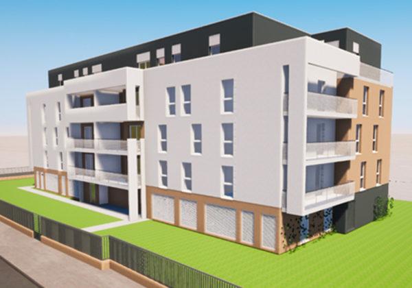 Résidence « Saint Martin » à Thionville : réalisation des fondations